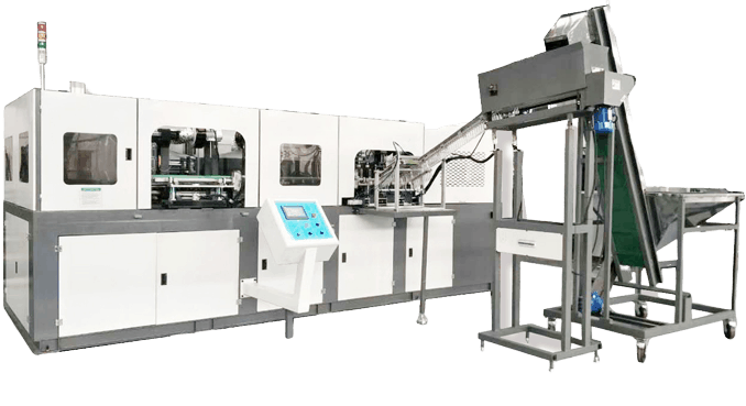 fully automatic PET bottle blow molder witah 6 cavities 6000BPH