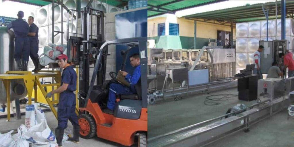 6000BPH 500ml and 300BPH 5 Gallon Filling Lines for Turnkey Customer