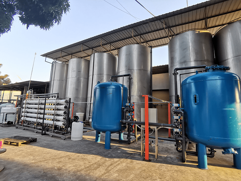 20 T per hour water treatment system