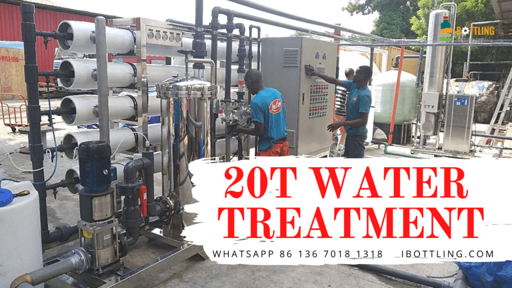 Angola's juice production line requires high-quality water treatment equipment to provide the best water quality.